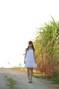 Ayumi Ishida 17 years old Morning Musume 14 Swimsuit with emerald green sea in the background086