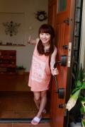 Ayumi Ishida 17 years old Morning Musume 14 Swimsuit with emerald green sea in the background089