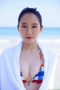 Yoshioka Riho Swimsuit Photo Gravure Bold Bikini 2015002