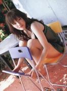 Haruka Ayase Swimsuit bikini image when she was a teenager013