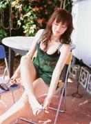 Haruka Ayase Swimsuit bikini image when she was a teenager014