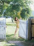 Haruka Ayase Swimsuit bikini image when she was a teenager029