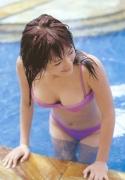 Haruka Ayase Swimsuit bikini image when she was a teenager036