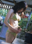 Haruka Ayase Swimsuit bikini image when she was a teenager091