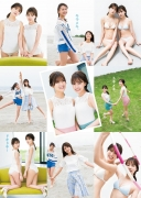 Kiramagers W heroine Mio Kudo Yume Shinjo First match in swimsuit003