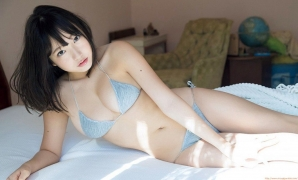 Kyouka gravure swimsuit image Idol loved by the god of breasts036