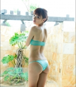 Rio Uchida gravure swimsuit image Even if it becomes a bikinishe always has dignity in parallel with clumsiness071