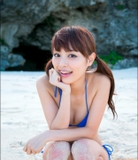 Rio Uchida gravure swimsuit image Even if it becomes a bikinishe always has dignity in parallel with clumsiness141