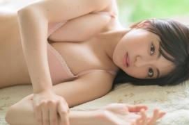Nanami Sato Former AKB48 Team 8 Nanami Satorepresentative of Iwate Prefectureshows off her swimsuit gravure003
