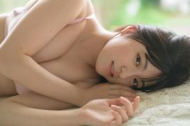 Nanami Sato Former AKB48 Team 8 Nanami Satorepresentative of Iwate Prefectureshows off her swimsuit gravure004