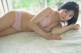 Nanami Sato Former AKB48 Team 8 Nanami Satorepresentative of Iwate Prefectureshows off her swimsuit gravure006
