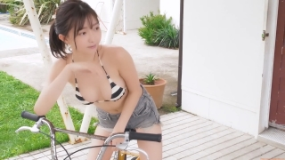 Moeka Hashimoto swimsuit bikini image too beautiful Uber sweets deliveryman 2020 g026