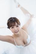 Natsuki Kawamura is a classical ballet in a swimsuit006
