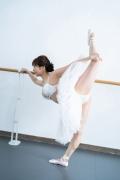 Natsuki Kawamura is a classical ballet in a swimsuit007