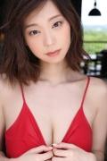 Hikaru Aoyama swimsuit bikini picture kissing her own Icup 2020005