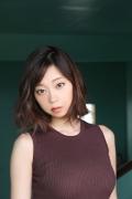 Hikaru Aoyama swimsuit bikini picture kissing her own Icup 2020006