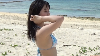 The first swimsuit of the actress from Okubo Sakura Squadron in Okinawa, a star in the making141