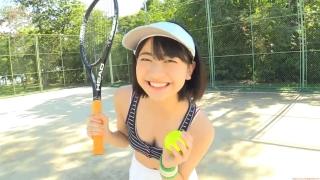 Minami Yamada tennis in swimsuit Tennis in bikini Tennis shower 2020001