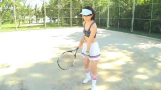 Minami Yamada tennis in swimsuit Tennis in bikini Tennis shower 2020002