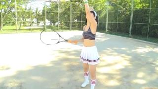 Minami Yamada tennis in swimsuit Tennis in bikini Tennis shower 2020003