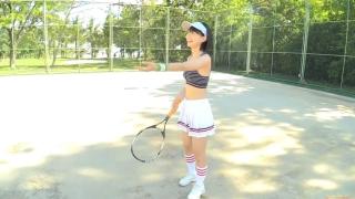 Minami Yamada tennis in swimsuit Tennis in bikini Tennis shower 2020007