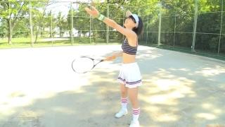 Minami Yamada tennis in swimsuit Tennis in bikini Tennis shower 2020008