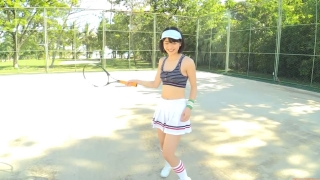 Minami Yamada tennis in swimsuit Tennis in bikini Tennis shower 2020010