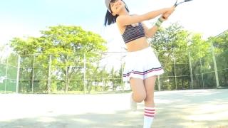 Minami Yamada tennis in swimsuit Tennis in bikini Tennis shower 2020016