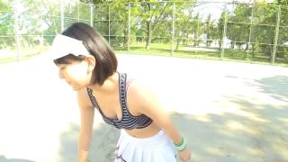 Minami Yamada tennis in swimsuit Tennis in bikini Tennis shower 2020019