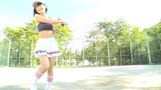Minami Yamada tennis in swimsuit Tennis in bikini Tennis shower 2020018