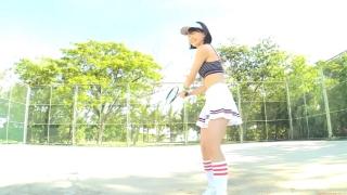 Minami Yamada tennis in swimsuit Tennis in bikini Tennis shower 2020017