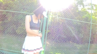 Minami Yamada tennis in swimsuit Tennis in bikini Tennis shower 2020029