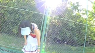 Minami Yamada tennis in swimsuit Tennis in bikini Tennis shower 2020032