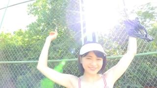 Minami Yamada tennis in swimsuit Tennis in bikini Tennis shower 2020048