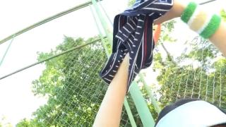 Minami Yamada tennis in swimsuit Tennis in bikini Tennis shower 2020047