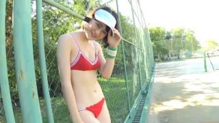 Minami Yamada tennis in swimsuit Tennis in bikini Tennis shower 2020055