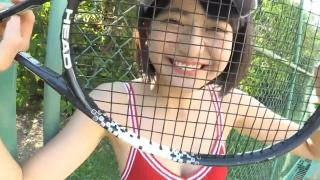 Minami Yamada tennis in swimsuit Tennis in bikini Tennis shower 2020058