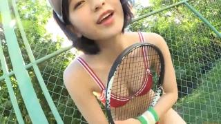 Minami Yamada tennis in swimsuit Tennis in bikini Tennis shower 2020062
