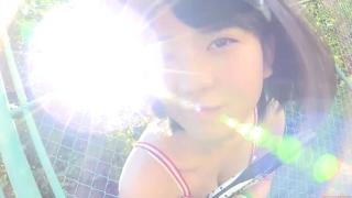 Minami Yamada tennis in swimsuit Tennis in bikini Tennis shower 2020063