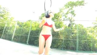 Minami Yamada tennis in swimsuit Tennis in bikini Tennis shower 2020067