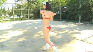Minami Yamada tennis in swimsuit Tennis in bikini Tennis shower 2020085