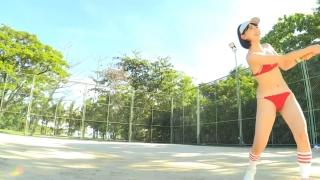 Minami Yamada tennis in swimsuit Tennis in bikini Tennis shower 2020089