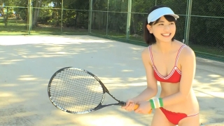 Minami Yamada tennis in swimsuit Tennis in bikini Tennis shower 2020090