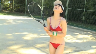 Minami Yamada tennis in swimsuit Tennis in bikini Tennis shower 2020092