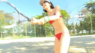Minami Yamada tennis in swimsuit Tennis in bikini Tennis shower 2020095