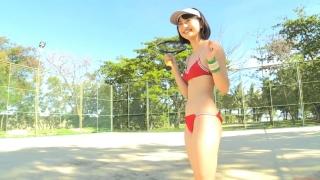 Minami Yamada tennis in swimsuit Tennis in bikini Tennis shower 2020096