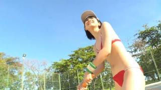 Minami Yamada tennis in swimsuit Tennis in bikini Tennis shower 2020097
