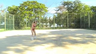 Minami Yamada tennis in swimsuit Tennis in bikini Tennis shower 2020100