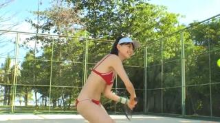 Minami Yamada tennis in swimsuit Tennis in bikini Tennis shower 2020105
