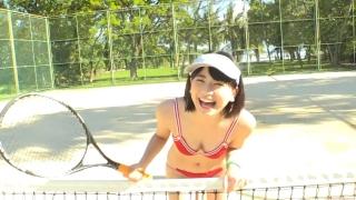 Minami Yamada tennis in swimsuit Tennis in bikini Tennis shower 2020120